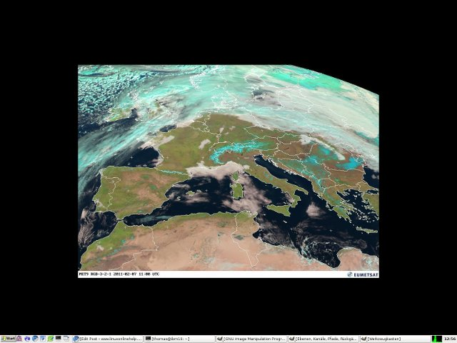 Debian Linux Active Desktop with feh