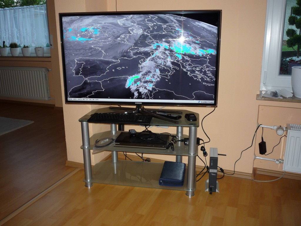 Linux Weatherstation Display
