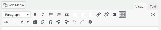 Distraction Button WordPress