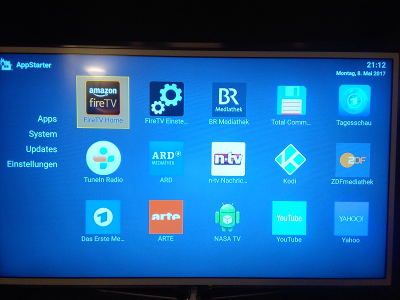 clean fire tv app starter alternative