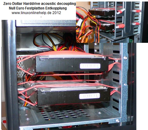 Air Cooled Archive Raid Harddrives Low Noise Passive Cooled
