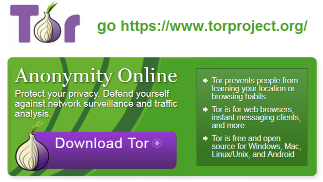 get Tor and peace